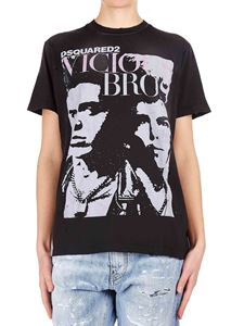 Dsquared2 - Vicious Bros T-shirt in black