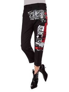 Dsquared2 - Dennis pants in black with prints