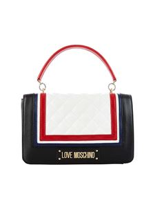 Love Moschino - Love Moschino bag in black with quilted insert