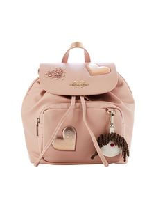 Love Moschino - Pink backpack with patches
