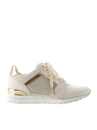 Michael Kors - Billie Trainer sneakers in cream color