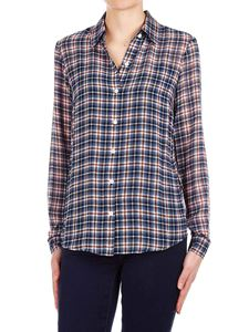 Michael Kors - Checked shirt in navy blue