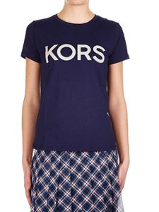 Michael Kors - Kors t-shirt in navy blue