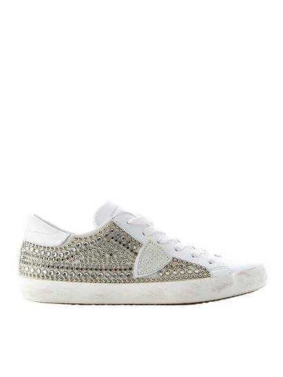 Model Spring Sneakers Studs Paris 2019 With Summer Philippe White In dBCxeo