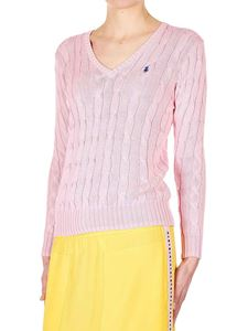 POLO Ralph Lauren - Braided pullover in pink