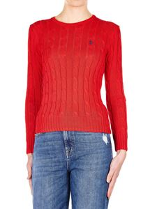 POLO Ralph Lauren - Braided pullover in red