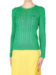 POLO Ralph Lauren - Braided pullover in green