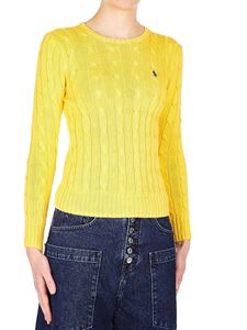 POLO Ralph Lauren - Braided pullover in yellow