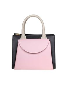 Marni - Law Bag Small in black and pink