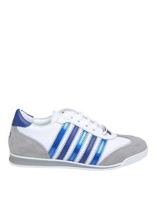 Dsquared2 - New Runner sneakers in white and blue