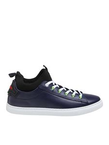 Dsquared2 - Techno New Tennis sneakers in blue leather