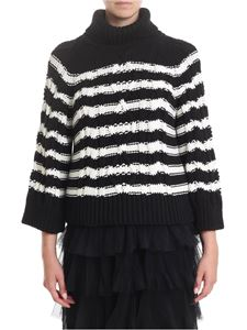 Red Valentino - Cotton knitted turtleneck