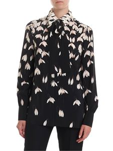 Valentino - Snowdrop printed shirt in black