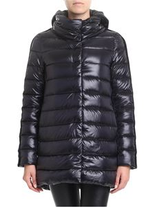 Herno - Resort down jacket with stripes on the sleeves