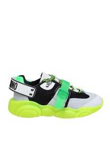 Moschino - Teddy Fluo sneakers in green