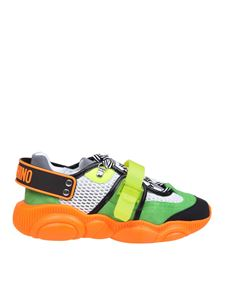 Moschino - Teddy Fluo sneakers in orange