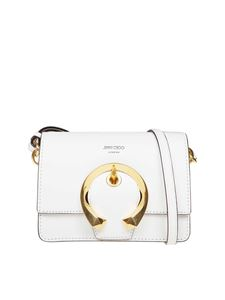 Jimmy Choo - Borsa a tracolla Madeline S color latte