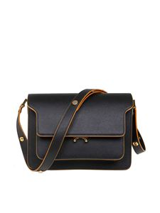 Marni - Trunk shoulder bag in black leather
