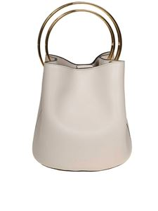 Marni - Handbag in ivory leather