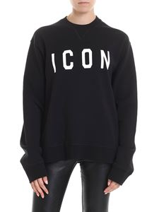 Dsquared2 - ICON sweatshirt in black