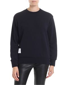Thom Browne - Crewneck sweatshirt in blue