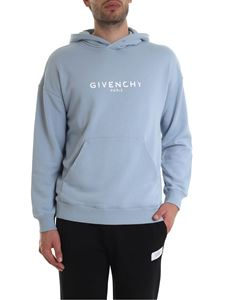 Givenchy - Vintage effect GIVENCHY PARIS printed hoodie
