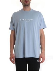 Givenchy - GIVENCHY PARIS oversized T-shirt with vintage effect
