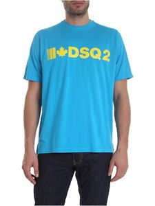 Dsquared2 - DSQ2 t-shirt in turquoise