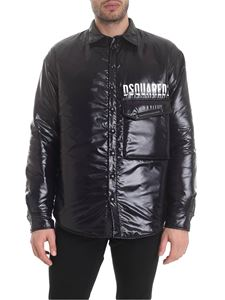 Dsquared2 - DSQUARED2 printed down jacket in black