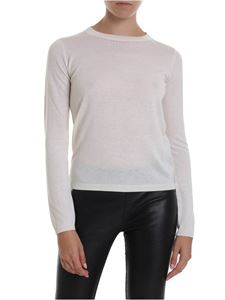 Max Mara - Solange long-sleeved shirt in cream color