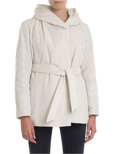 Max Mara - Cantore down jacket in milk color