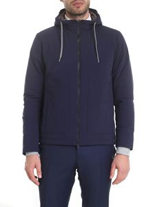 Herno - Resort Packable Travel Jacket in blue