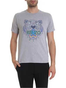 Kenzo - Tiger t-shirt in melange grey
