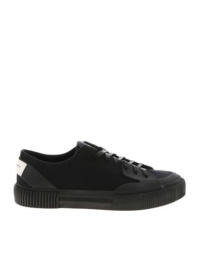 Givenchy - Sneakers Tennis Light in tela nera