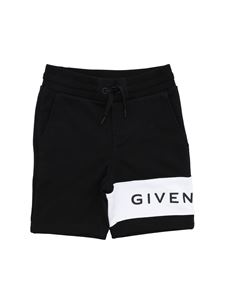 Givenchy - Givenchy sweat short in black