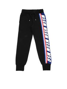 MSGM - Sweatpants in black with logo