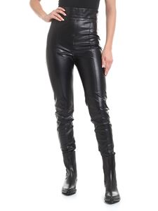 Ermanno Scervino - Eco-leather leggings in black