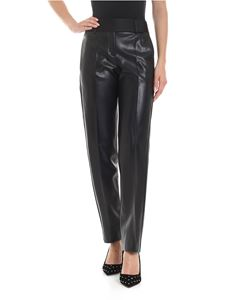 Ermanno Scervino - Eco-leather trousers in black