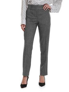 Ermanno Scervino - Herringbone fabric pants in black and white