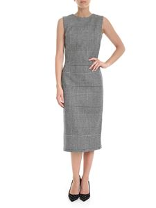 Ermanno Scervino - Prince of Wales sheath dress in black and white