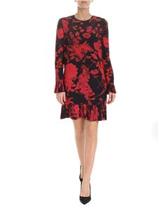 Valentino - Overdyde dress in black with floral print