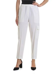 Theory - Easy Cargo trousers in ivory