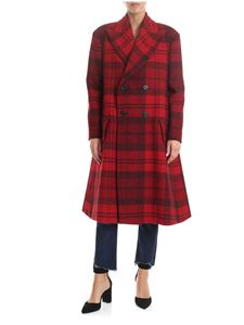Vivienne Westwood  - Check Coat in red