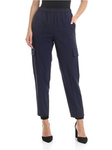 Theory - Easy Cargo trousers in blue