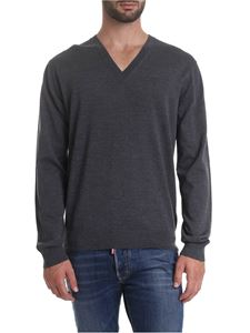 Dsquared2 - Pullover in grey pure wool