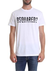 Dsquared2 - DSQUARED2 printed T-shirt in white
