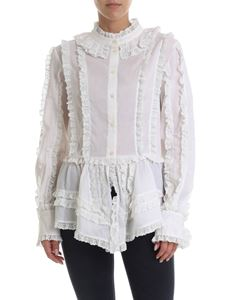 See by Chloé - Victorian style shirt in cream color