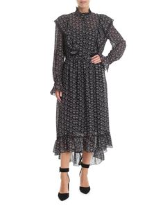 See by Chloé - Ruffled dress in black neo-victorian style