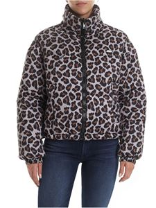 MSGM - Animal printed down jacket
