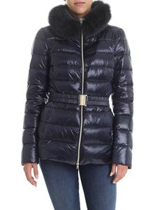 Herno - Claudia Iconico down jacket in blue